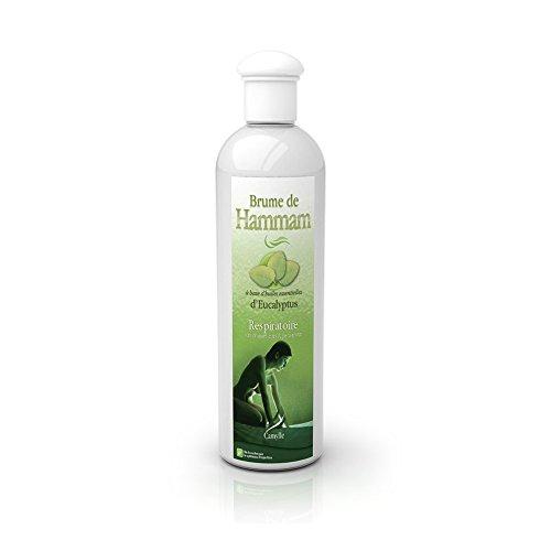 Camylle - Brume de Hammam - Emulsion von Ätherischen Ölen für Dampfbad – Eukalyptus - Atmungsaktiv – 250ml
