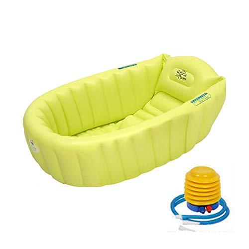 Auspilybiber Bañera Inflable para bebés con Bomba Inflable, bañera portátil para bebés y niños...