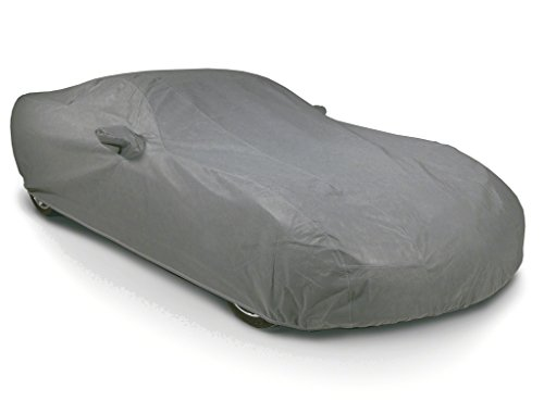 Auto Pearl - Tripple Stich Premium Grey Matty Car Body Cover with Mirror Pockets,Buckle Belt & Carry Bag For - MERCEDES S CLASS/BMW 7 SERIES/AUDI A8/AUDI A6/JAGUAR/BMW 5 SERIES/Rhino/MERCEDES C CLASS/MERCEDES E CLASS/ Audi A4  available at amazon for Rs.1547