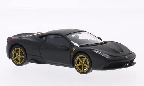 Ferrari 458 458 458  e , matt-Noir , 2013, Model Car, Ready-made, mattel Elite 1:43 by Ferrari 73c9bd