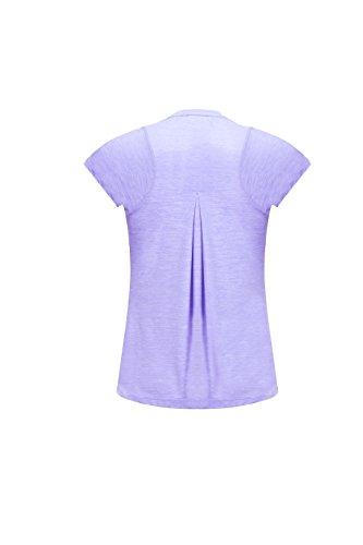 SPECIAL MAGIC T-shirt à manches courtes à manches courtes à manches courtes à manches courtes pour femme violet clair