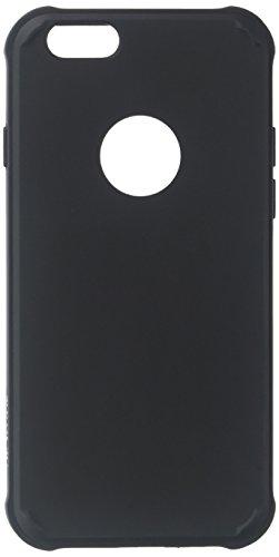 Diztronic IP6-VOY-BLK Ultra TPU Schutzhülle für Apple iPhone 6/6S Voll Matt schwarz Matte Black Voyeur