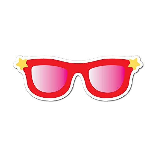 Sunglasses Sticker Decal Fun Funny Pop Art Colorful