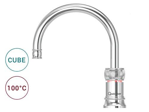 Quooker COMBI 2.2 E & CUBE | Classic Nordic Round CHR Kochendwasser-System Küche -