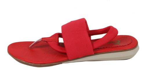 Eronya , Tongs pour femme Rouge - Lachsrot