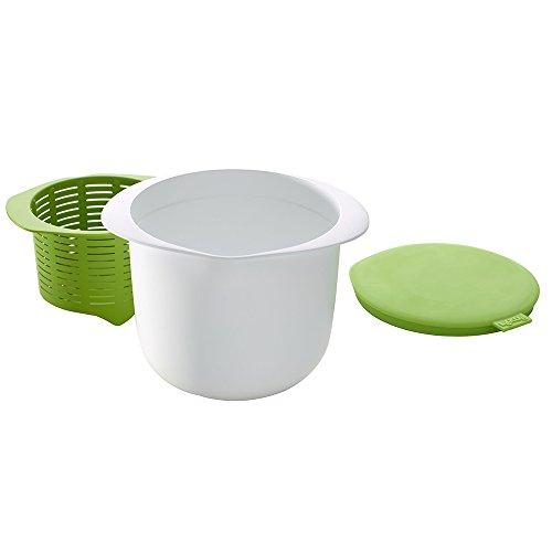 Lékué Cheesemaker Set, Blanco/Verde