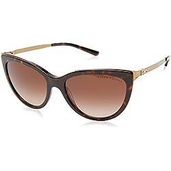 Ralph Lauren 0Rl8160 Gafas de Sol, Dark Havana, 56 para Mujer