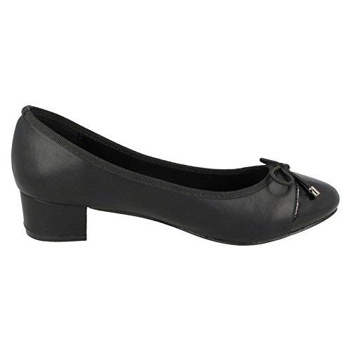 Noir Sandales Spot Compensées femme On UPRX4Wn1