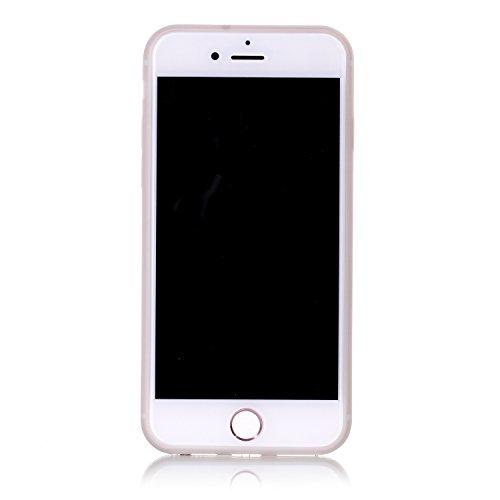 Voguecase® Pour Apple iPhone 7 Plus, Noctilucent TPU avec Absorption de Choc, Etui Silicone Souple Transparente, Légère / Ajustement Parfait Coque Shell Housse Cover pour Apple iPhone 7 Plus (arbre ve Donuts 01