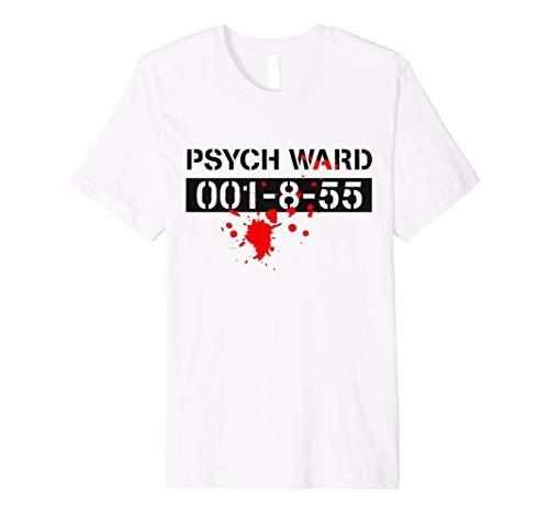 Psych Ward Gefangene Patienten Halloween-Kostüm Funny T-Shirt