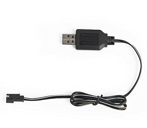 4.8v SM-2P Batteries Chargeur USB RC Rock Crawler Véhicule Buggy Voiture