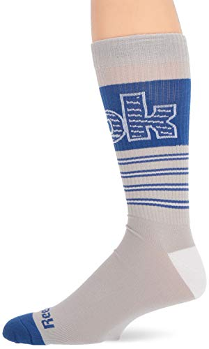 Reebok Herren Classic Basketball Crew Sock, grau, Mens 11-13 -