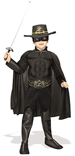 Kostüm Zorro Dress Fancy - BOYS ZORRO BANDIT FANCY DRESS DELUXE COSTUME ALL SIZES LICENSED