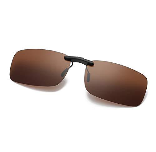 YeeHoo Sonnenbrille Aufsatz, Sonnenbrille Clip on Polarisiert Clip polarisierte Sonnenbrille Flip up Sonnenbrille Clip Gegen Licht für Frauen und Männer