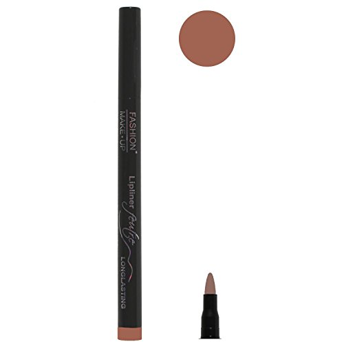 Feutre Semi Permanent Lip Liner - Couleur Brun Clair - Effet Tatouage Contour des Levres Maquillage