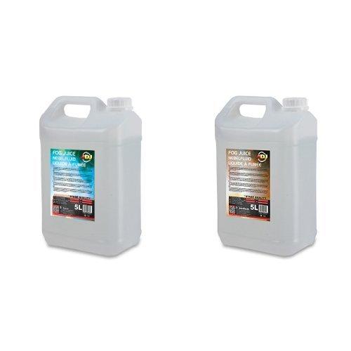 Adj Flüssigkeit (ADJ 5L Heavy Nebelflüssigkeit + ADJ 5L Medium Nebelflüssigkeit Bundle)