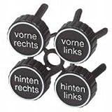 HR 884/01 Reifenmarkierung - 4 Clips zum Einstecken in die Felgenlöcher