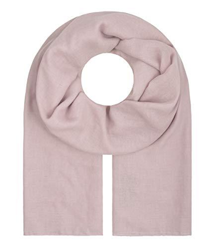 """Majea Tuch Aurora"""" großes Damen-Halstuch XXL Schal Damen Tuch Halstuch einfarbig uni unisex unifarben Schals und Tücher (mauve)"""