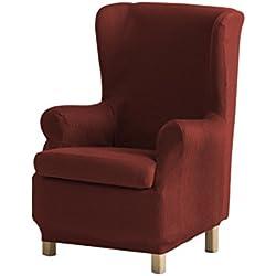 Eysa Ulises - Funda de sillón orejero elástica, color caldera