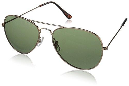 zeroUV ZV-1041d Original Classic Metal Standard Aviator Sunglasses