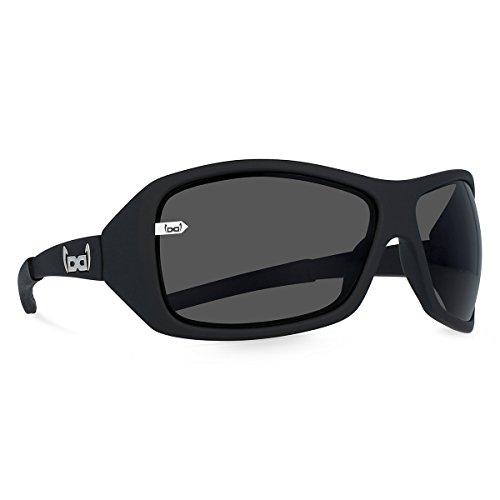 gloryfy unbreakable eyewear Sonnenbrille G10 black matt, schwarz