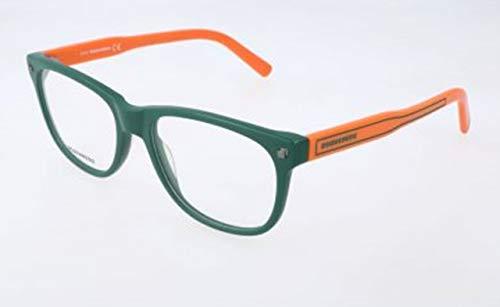 Dsquared2 Unisex-Erwachsene D Squared DQ5202 094-53-17-140 Brillengestelle, Grün, 53