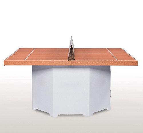 Tennino - Tennis für Zuhause - Tischtennis - Geschenkidee - Weihnachtsgeschenk - für Jung und Alt - für Groß und Klein (weiß)