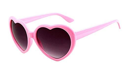 (Pink) Sonnenbrille - Herz - Damen - Lolita Style - Polarized Uv400 -