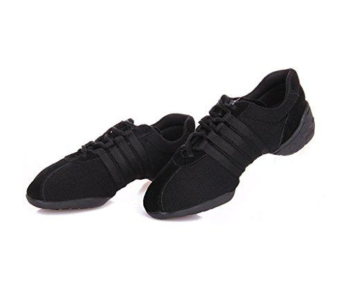 E Support™ Damen Funky Sneaker Dance Fitness Aerobic Gymnastik Sneaker Tanzsneaker Modernen Jazz Tanzschuh Dancesneaker Sportschuhe Schuh - 3