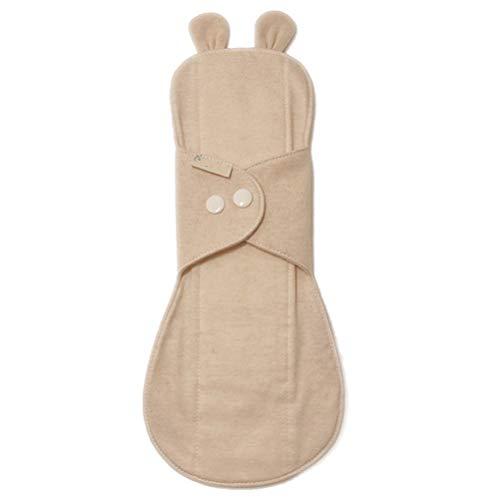 GFYWZ Organic Cotton Sanitary Day Pads Plus für Frauen - Wiederverwendbare Menstruationstücher aus natürlichem, geruchsneutralem, atmungsaktivem Stoff, hypoallergen, 285 mm,2PC - Natürliche Sanitary Pads