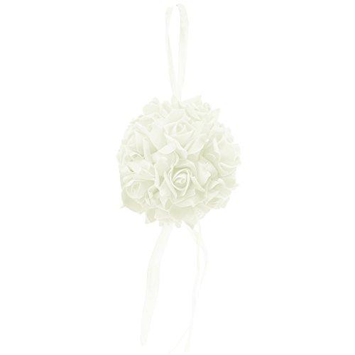 Cuigu Blumen rosa Kugel Pompons Kugeln Blumen Papier DIY Dekoration-Baby Shower Noce Hochzeit Party Geburtstag Chamber, Schaumstoff, beige, 5.91''