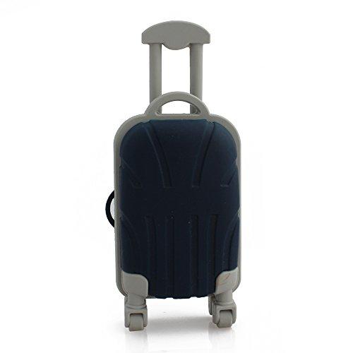 CHUYI Kreative und Einzigartige Gepäck Form USB 2.0Flash Drive Neuheit Stick Cool Stick Jump Drive Schnelle Übertragung Speicher Stick Speicher U Disk Geschenk, Luggage, 32GB (Jump G Drive 16)