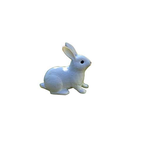 Originaltree Schöne Kaninchen miniaturlandschaft DIY Garten Dekor Handwerk dollhaus Ornament 1#
