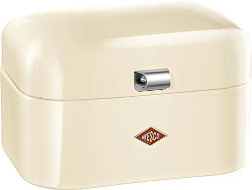 Wesco 235101-23 Brotkasten Single Grandy, mandel (Vintage Emaille Brotkasten)