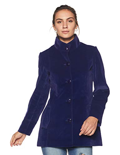 Endeavor Women's Coat (18603-IB_Ink Blue_2xl/101 cm)