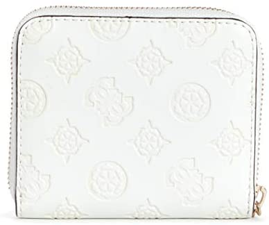 GUESS Monedero Peony Classic SG739837 Ivory