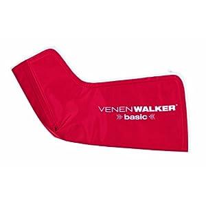 VITALmaxx VenenWalker basic – Vollautomatische Bein Massage, Wechseldrucktechnik, Rot