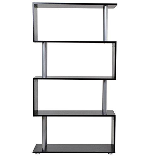 Librería Estantería Moderna Tipo Estante de Pared Muebles de Decoración de...