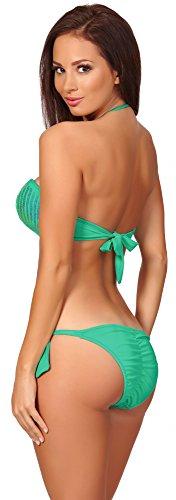 Antie Completo Bikini da Donna C4c4 S Turchese