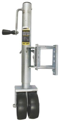 MaxxHaul 7014911–1/5,1cm Lift Swing Rückseite Trailer Jack mit Dual Räder–1500LBS. Kapazität