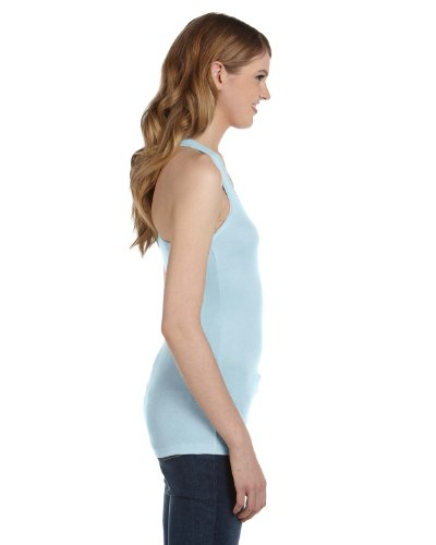 Bella - T-shirt de sport - Asymétrique - Femme Bleu pâle