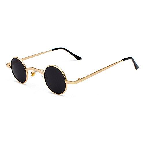 Neue Stil Trend Sonnenbrille Punk Retro Kleine Runde Gläser Street Rock Street Travel Brille Unisex