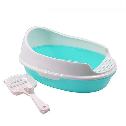 Xian Zi Negozio online globale Lettiera per WC per Animali Domestici,Sky Blue