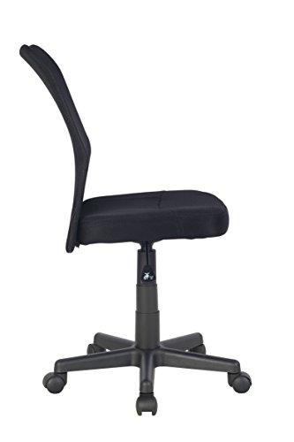 Bürostuhl skizze  SixBros. Bürostuhl Drehstuhl Schreibtischstuhl Schwarz - H-298F ...