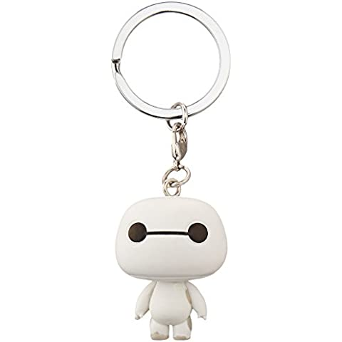 6 Héroes Llavero Pocket POP! Vinyl Armored Baymax 4 cm