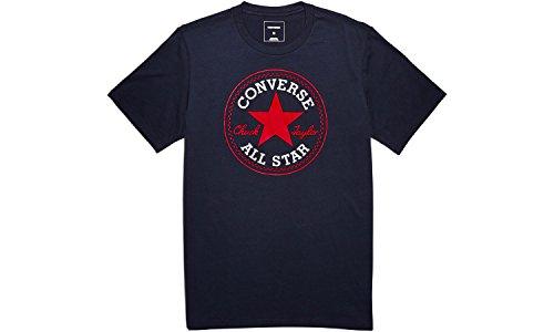 Converse Herren Kern Chuck Taylor Patch-T-Shirt, Blau Blau