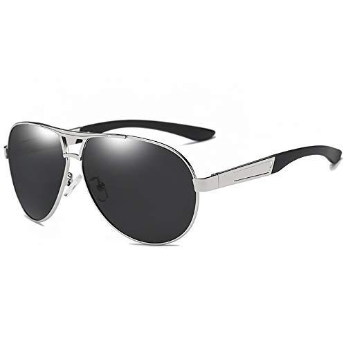 LAOBIAOZI Sonnenbrille Herren Aluminium Polarisierte Sonnenbrille Herren Klassische Marken Sonnenbrille Police Eyewear Beschichtung Spiegel Sonnenbrille Fahren, C3