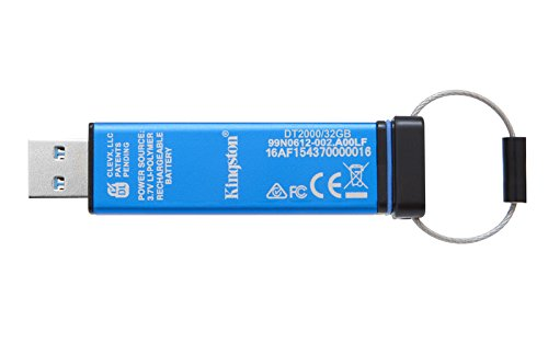 Kingston DataTraveler 2000 USB 3.0 32GB Pen Drive (Blue)