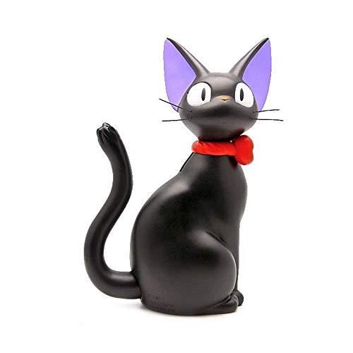 Helay Studio Ghibli Miyazaki Kiki - Figura de acción de 10 Pulgadas, diseño de Gato Negro