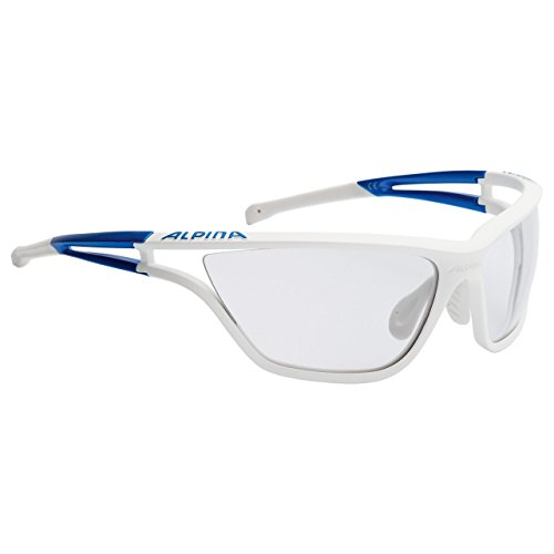 Alpina Sonnenbrille Performance EYE-5 HR CM+, white matt-black, A8546025